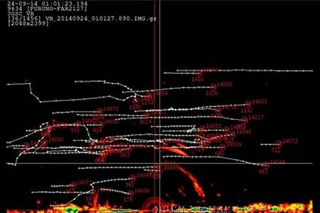 3 Bird Radar System - fall bird migration - profile of flights altitude